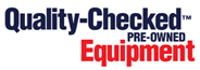 Quality checked used equipment logo