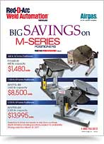 Sale on M-Series Positioners